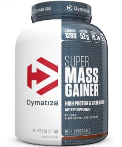Dymatize super mass gainer 6lbs