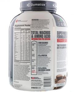 Dymatize super mass gainer 6lbs Nutrition Facts